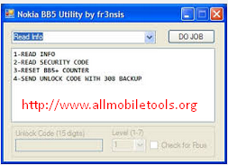 Nokia BB5 Unlock Code Calculator (Security Code Unlocker) V2.8 Free Download For All