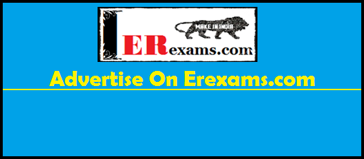 Advertise On Erexams.com
