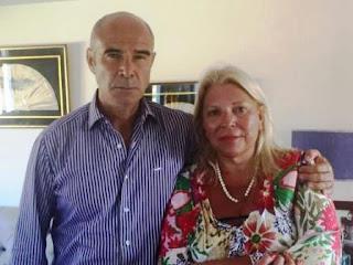 La diputada nacional de la Coalición Cívica ARI recibió al ex titular de la Aduana, suspendido en su cargo tras la denuncia por presuntas irregularidades efectuada por el Ministerio de Seguridad de la Nación.