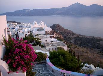 Vistas de Milo - Islas Griegas
