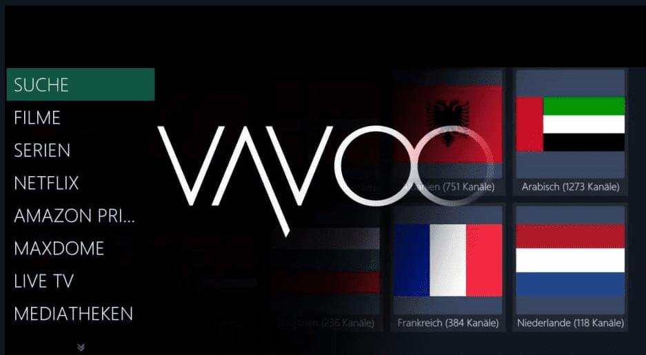 تحميل وتفعيل تطبيق VAVOO لمشاهدة القنوات العالمية والرياضية وافلام نتفليكس