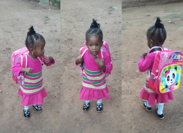 Alysha First Day of School
