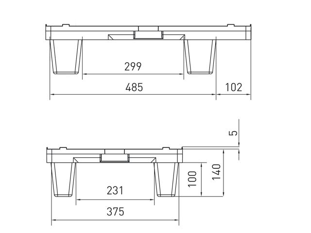 Palet-plastico-mini-apilable-600x400x140mm-croquis-lateral