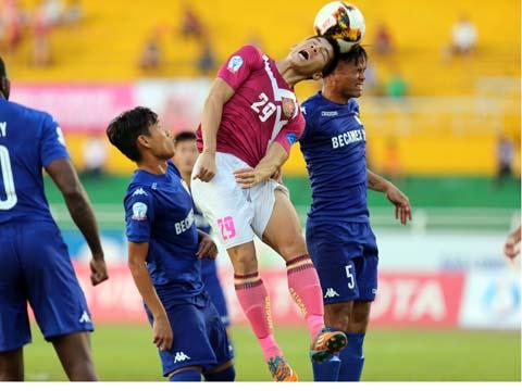 Ngân Văn Đại đã ghi được 5 bàn thắng tại V.League 2017.