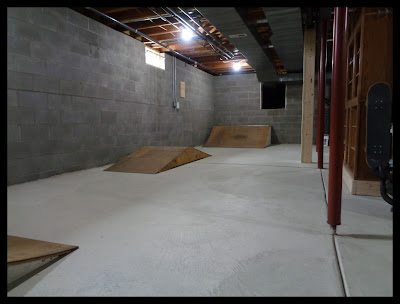 Basement Skatepark Run