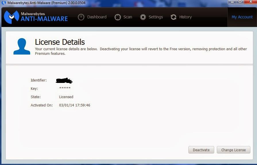 malwarebytes license key june 2018