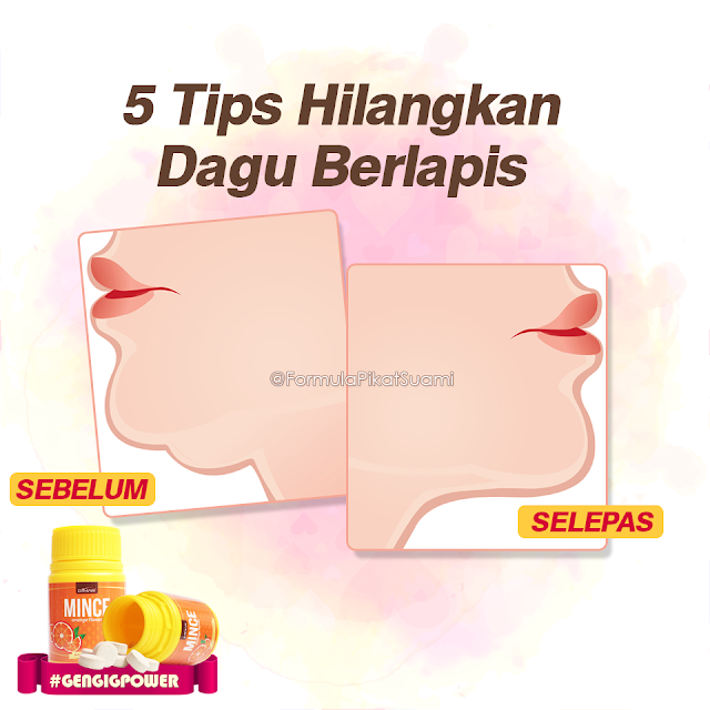 Tips Hilangkan Double Chin