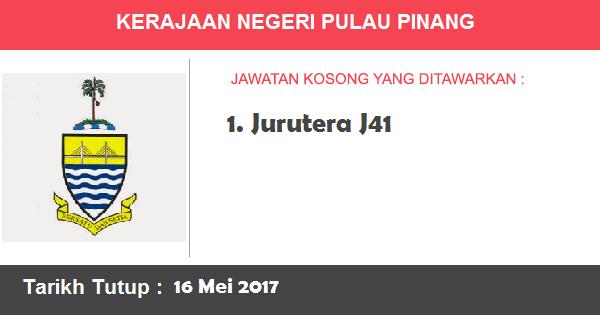 Jawatan Kosong di Pentadbiran Kerajaan Negeri Pulau Pinang