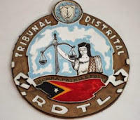 East Timor District Courts Crest, Timor-Leste