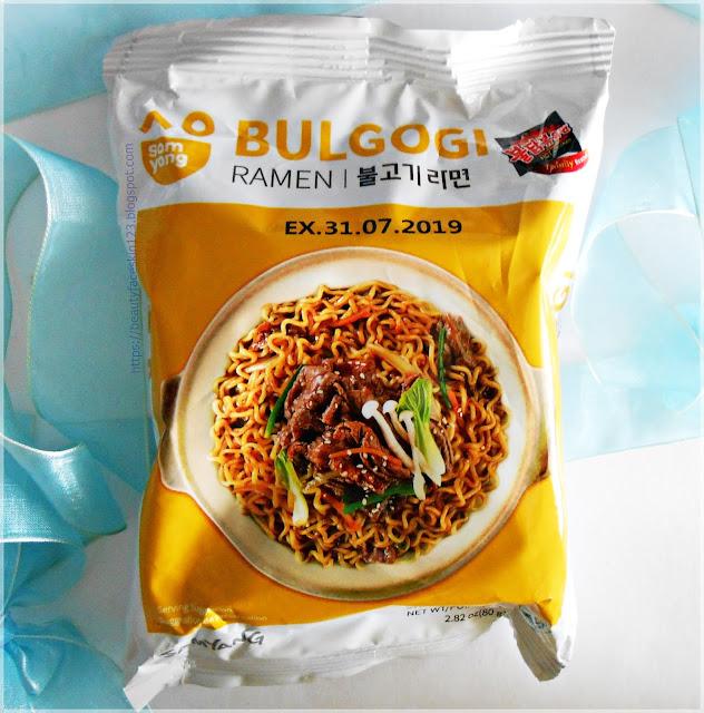 Samyang Bulgogi instant noodles