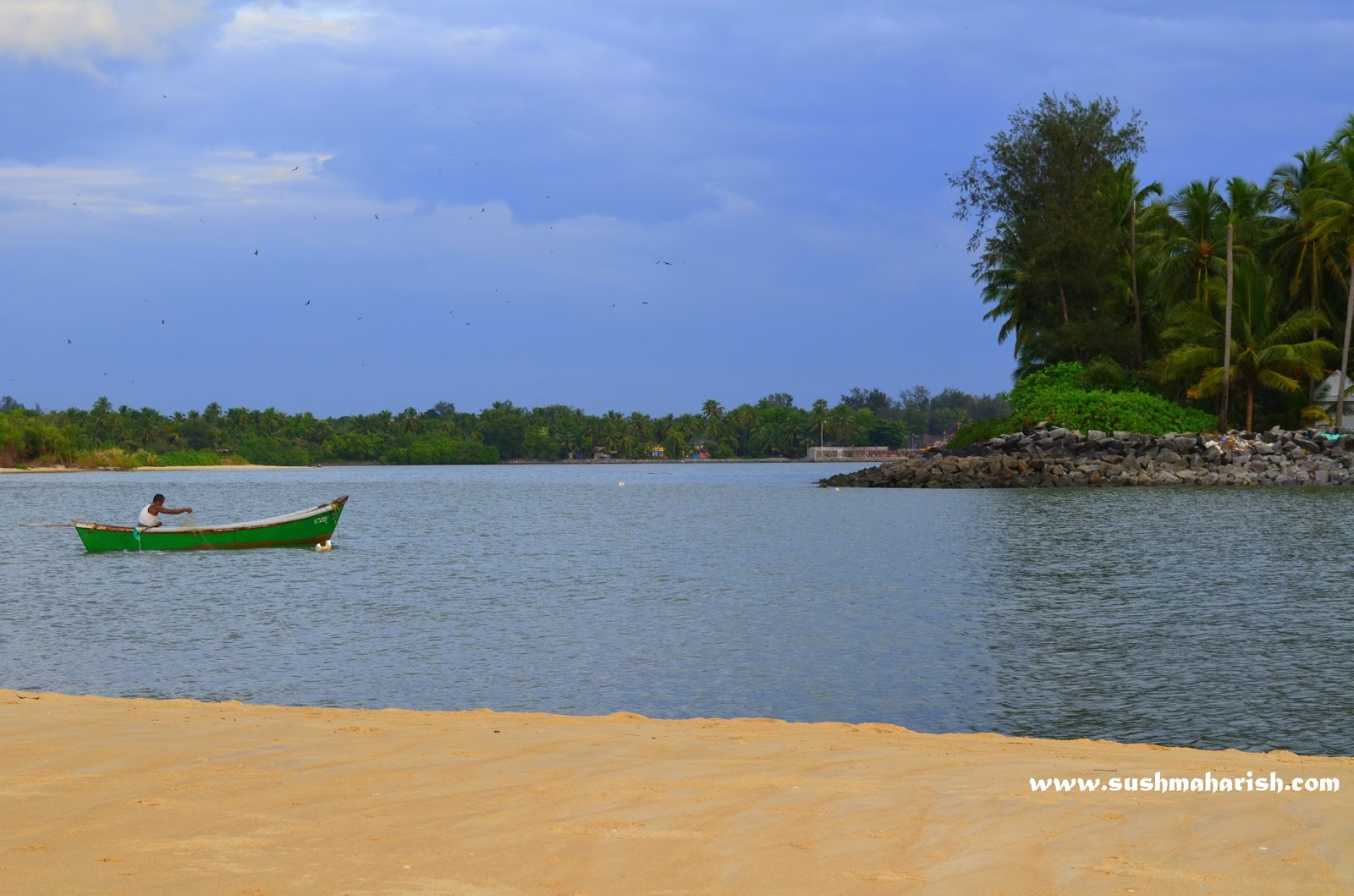 Two Best Beaches Of Udupi - Bengre The Silent Estuary And The Swarming Malpe 5