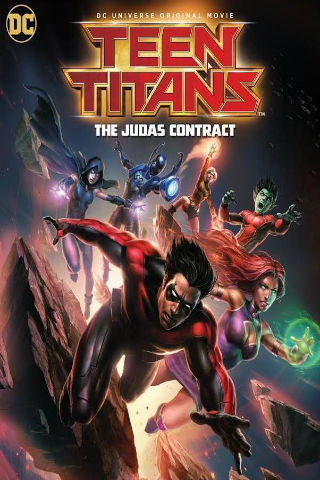 Teen Titans: The Judas Contract [2017] [DVDR] [NTSC] [Custom] [Latino]