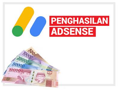 Penghasilan Google Adsense dari Blog Lowongan Kerja loker