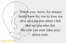 Caring Mother Status Quotes Messages SMS in Hindi for May 13 | Happy