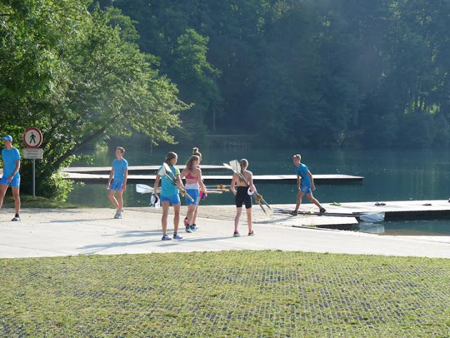 Club olímpico de remo. Lago Bled. Ruta en autocaravana por Eslovenia | caravaneros.com