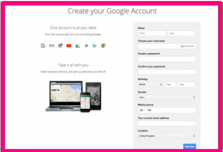 Sign up for Gmail | How to Create a Gmail Account