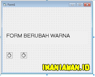 Visual Basic: Membuat Background Form Berubah Warna Secara Random