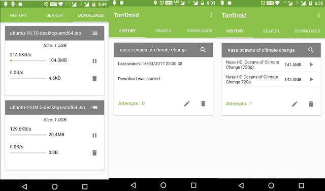 أفضل وأسرع عشرة تطبيقات تحميل التورنت على الهاتف