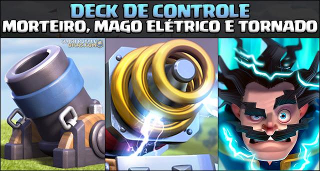 Deck de Morteiro, Mago Elétrico, Mineiro e Sparky - 1