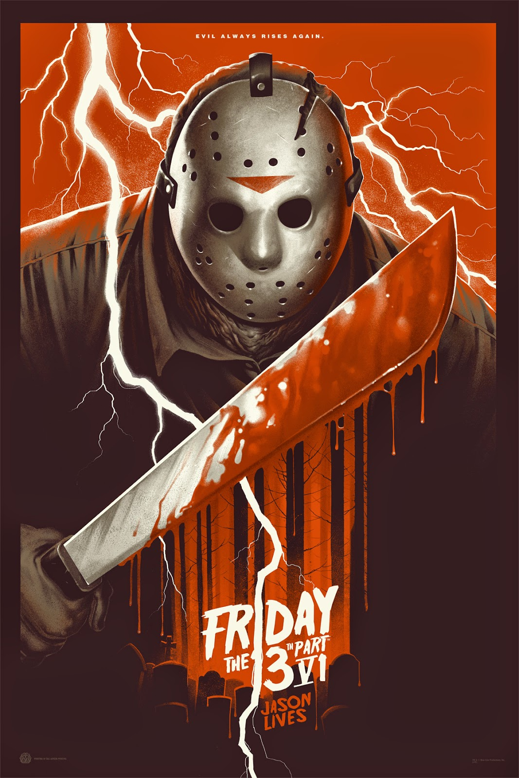 Inside The Rock Poster Frame Blog Friday The 13th Part Vi