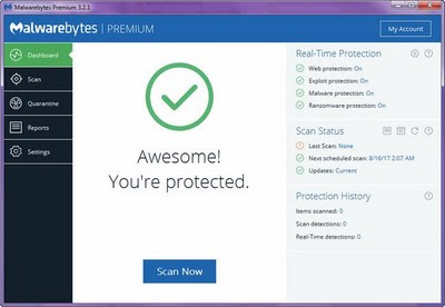 Malwarebytes Premium 3.2.2.2018 Final Multilingual Full Crack