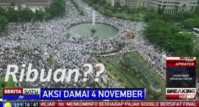 Video Kebohongan Televisi Soal Aksi Bela Islam Ini Bikin Netizen Ngakak