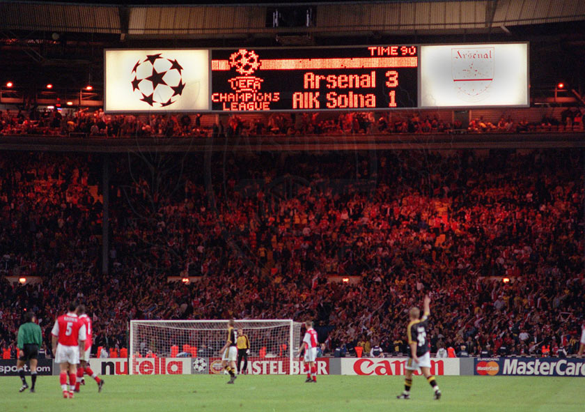 arsenal wembley 1999