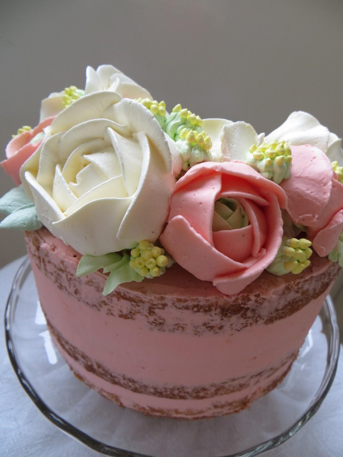 6fb1fd04cb30 HÖJDGRÄND: Tårta - Naked cake