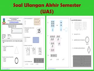 Soal UAS KTSP Matematika Kelas 1 Semester 1
