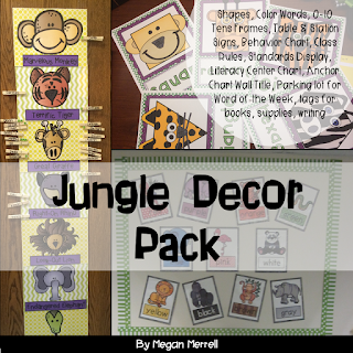 https://www.teacherspayteachers.com/Product/Classroom-Decor-Jungle-Theme-by-Megan-Merrell-1367053