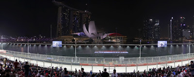 Bay Grandstand - Singapore Grand Prix Formula 1 Marina Bay Night Race - SALIKA