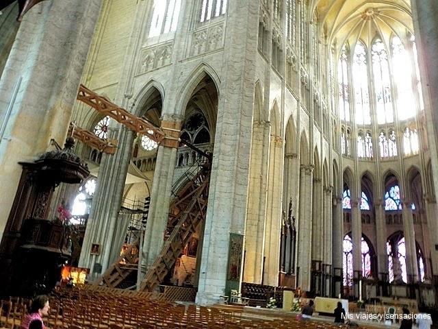Catedral de San Pedro, Beauvais, Francia