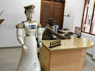 First Humanoid Police Robotnamed KP-BOT