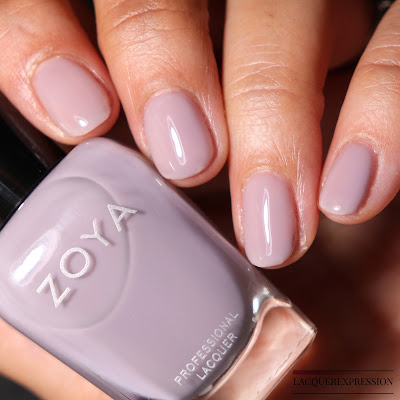 Swatch and Review of Zoya Vickie from the Zoya Kisses Collection