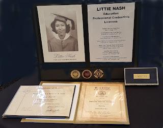 Academic Credentials of Littie Nash, Mother of Sunny Nash