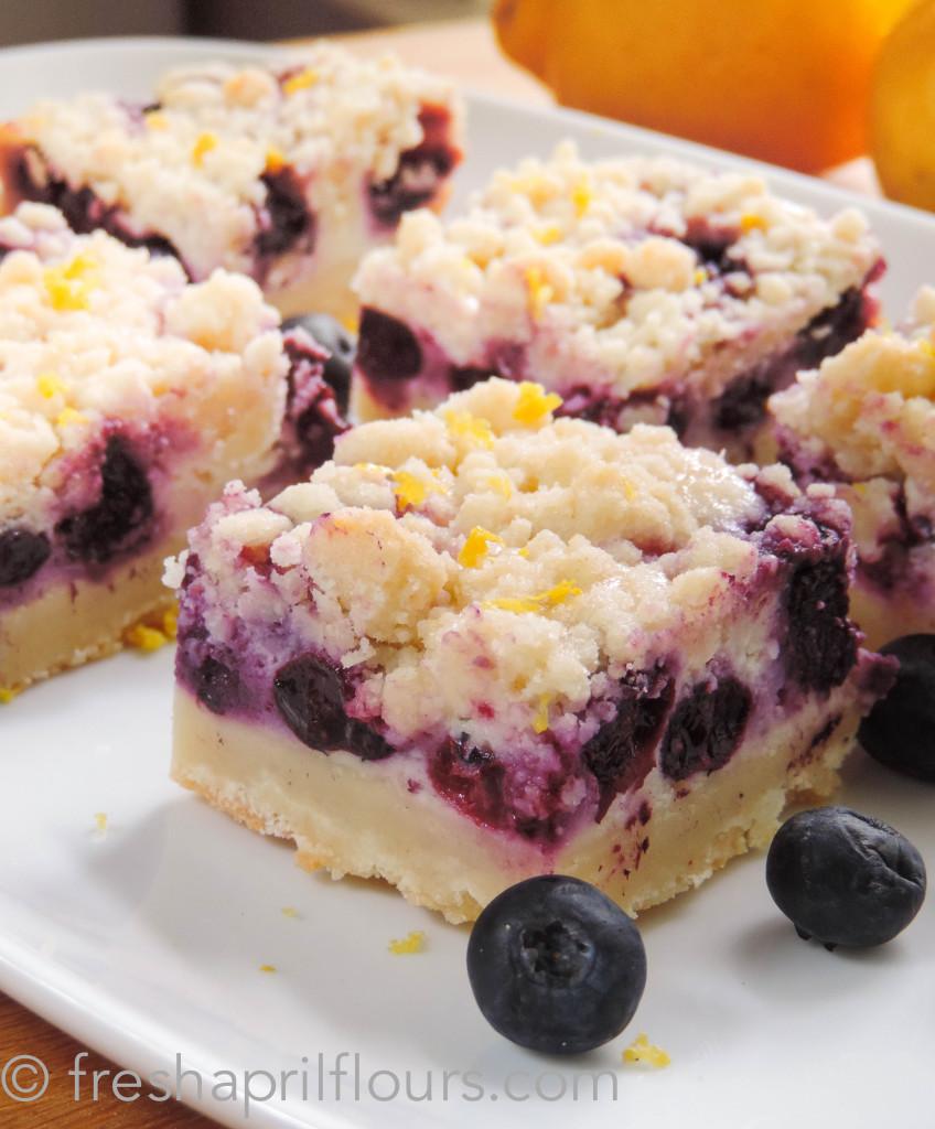 Best Blueberry Lemon Pie Bars Recipe