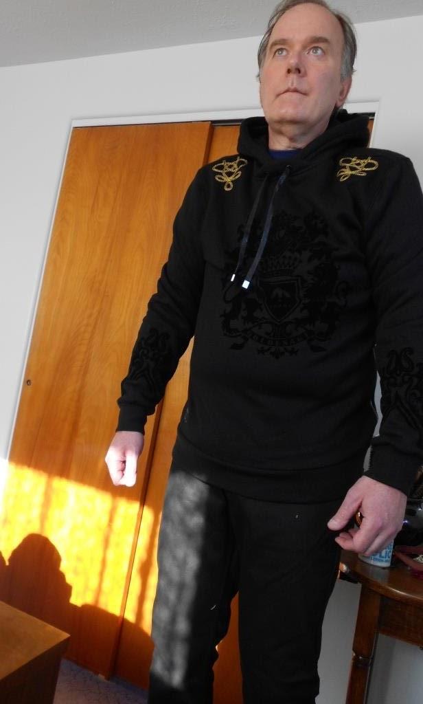 modeling black hoodie down.jpeg