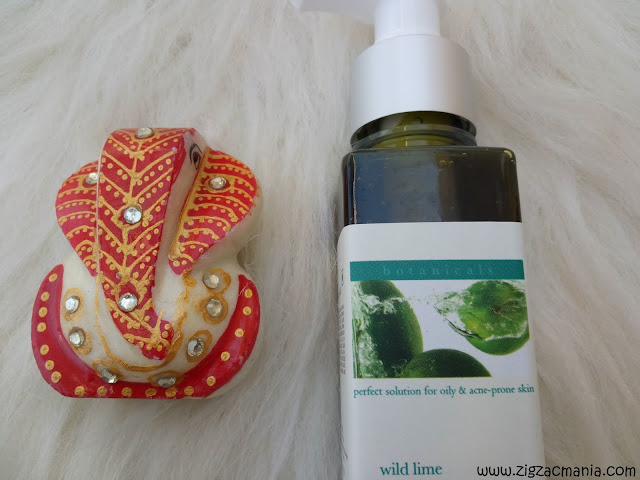 Iraya Mild Lime Face Wash : Color, texture, price, online availabilty