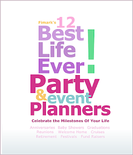 12 Best Live Ever Party and Event Planners Keepsake Guidebook