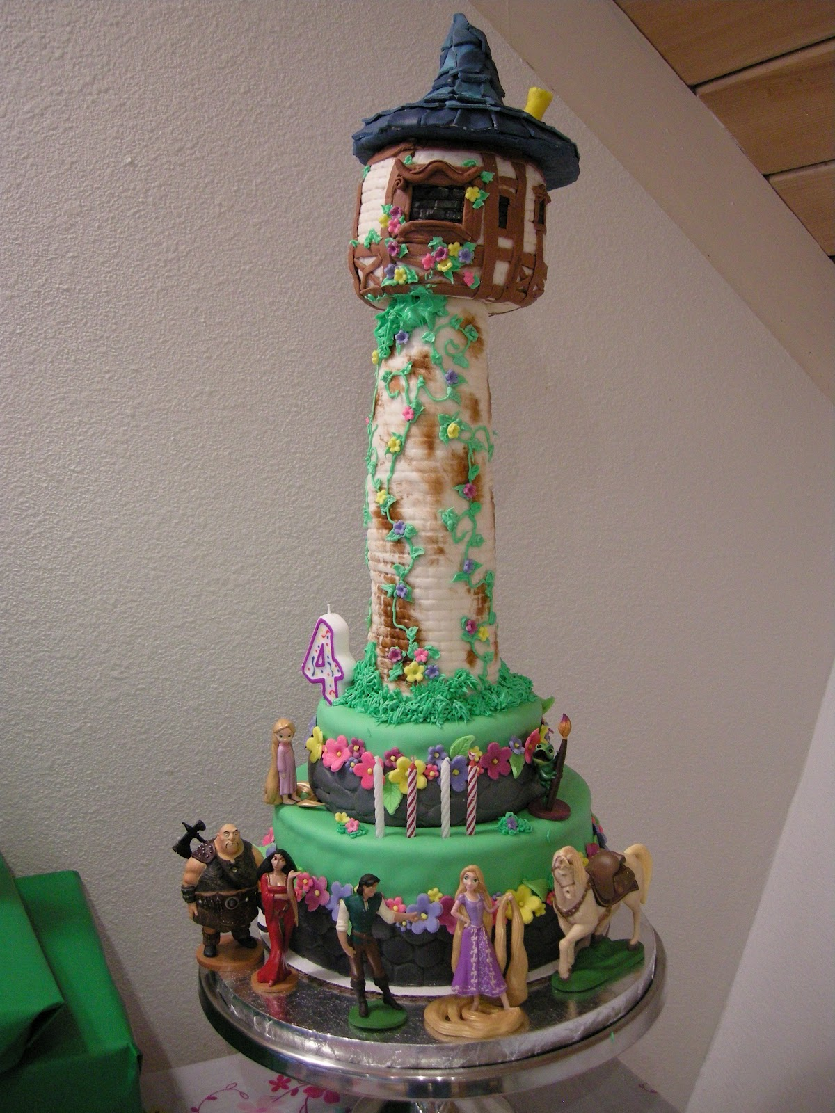 Rapunzel Tower Cake Images