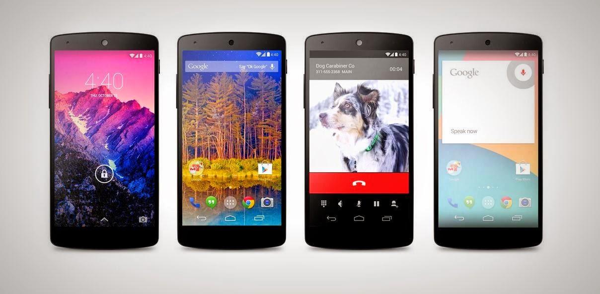 Fitur dan Spesifikasi LG Nexus 5