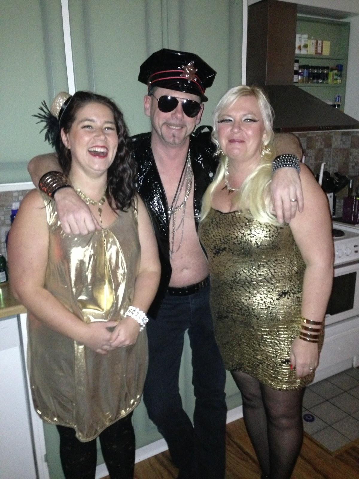 glitter och glamour fest