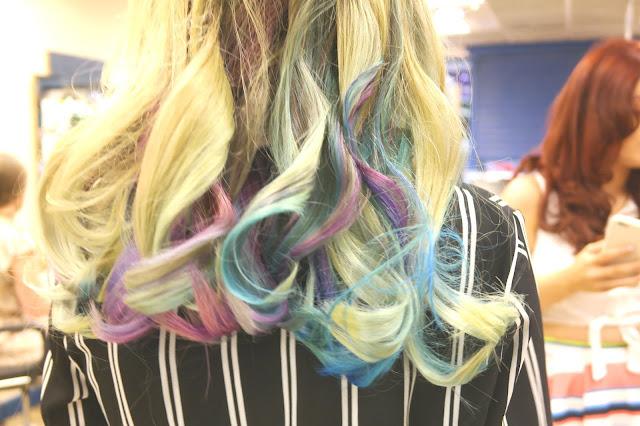 Supercuts salon mermaid curls