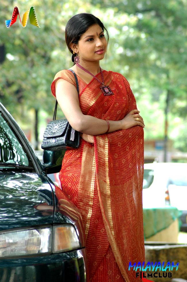 Anchor Veena Cute  Hot Mallu-9869