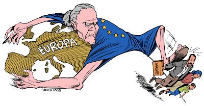 Resultado de imagem para globalização e imigrantes ilegais