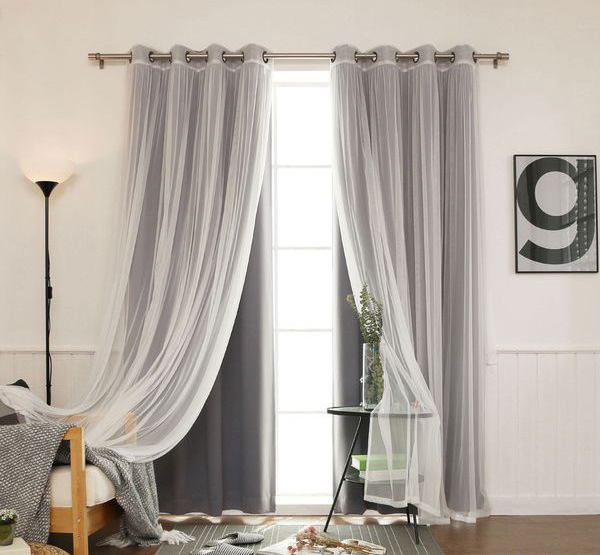 Best bedroom curtain design ideas and window treatments 2019