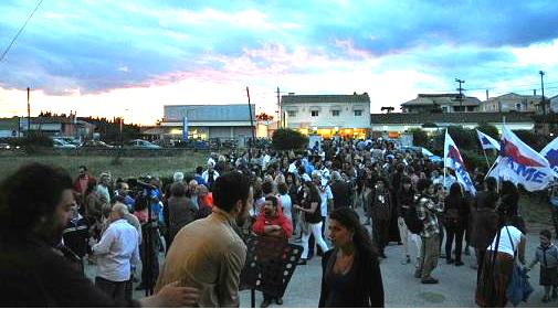 Κέρκυρα  Εκατοντάδες κόσμου στη συναυλία διαμαρτυρίας υπέρ της ΕΡΤ 17c1800aa88
