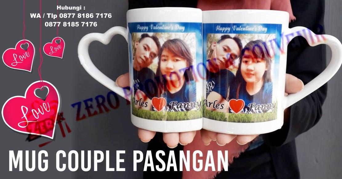 Jual Mug Couple Pasangan Romantis Untuk Hadiah Pernikahan