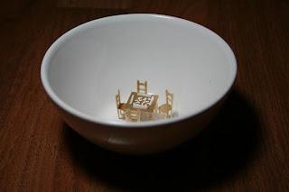 Muebles miniatura