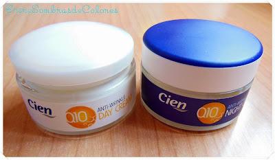 Cremas Q10 día y noche Cien (Lidl).
